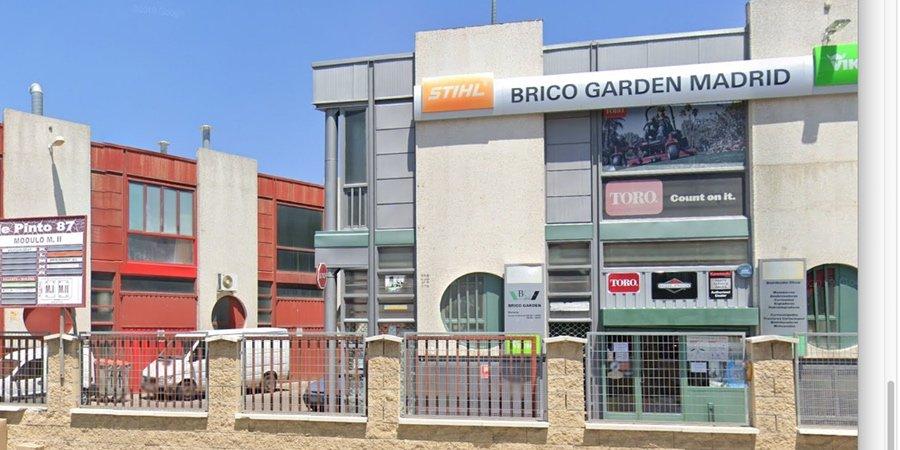 Tienda de jardinería y maquinaria Brico Garden Madrid